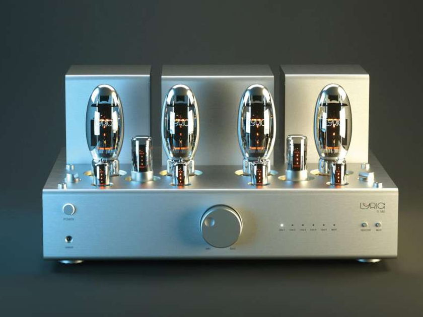 Lyric Audio Ti140 integrated tube amplifier - hand made in Germany - NEW in the US