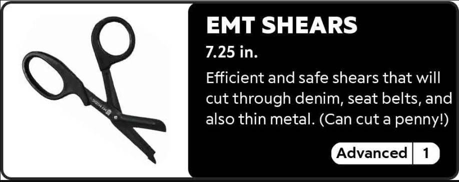 EMT Shears