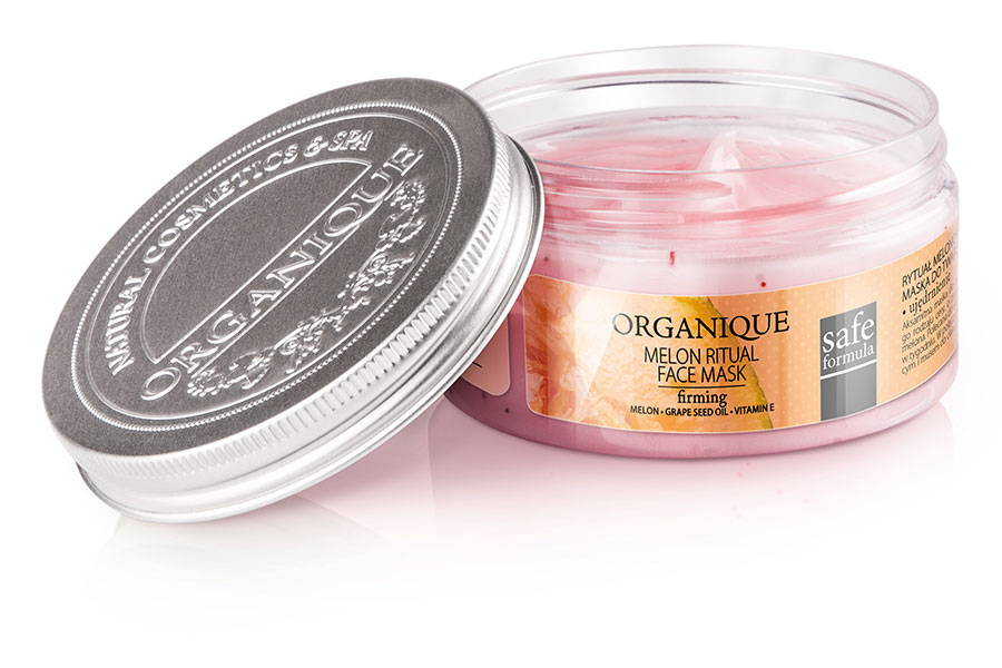 Firming And Refreshing Face Mask With Melon Organique cosmetics