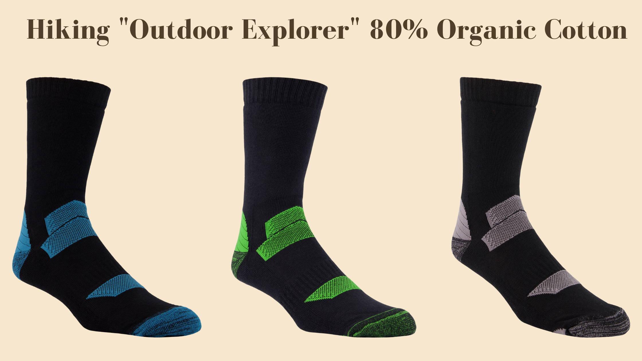 organic cotton hiking socks