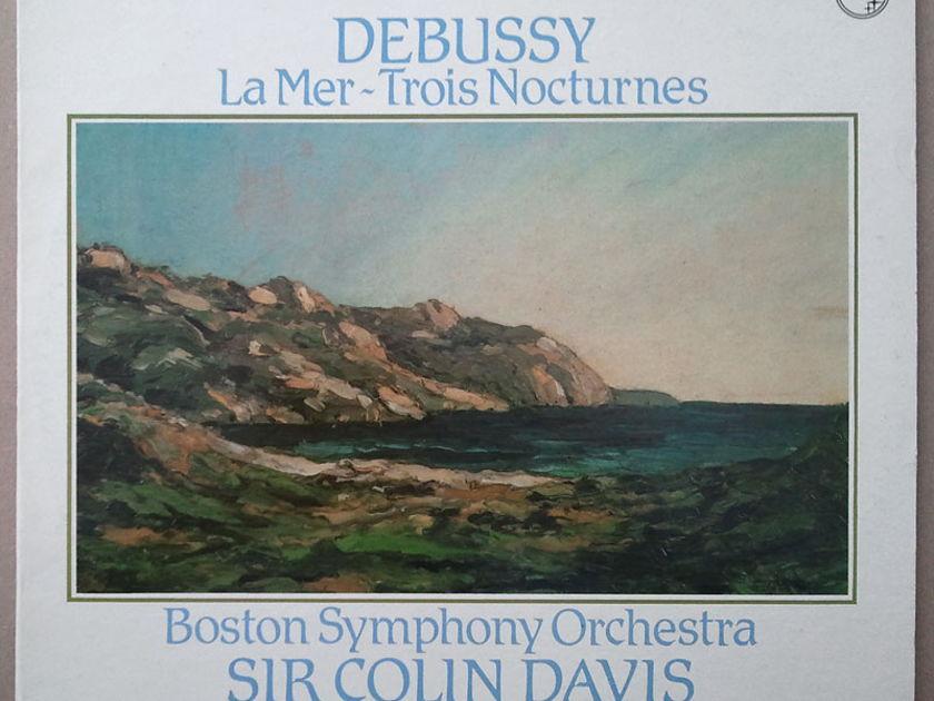 Philips/Colin Davis/Debussy - La Mer, Trois Nocturnes / NM