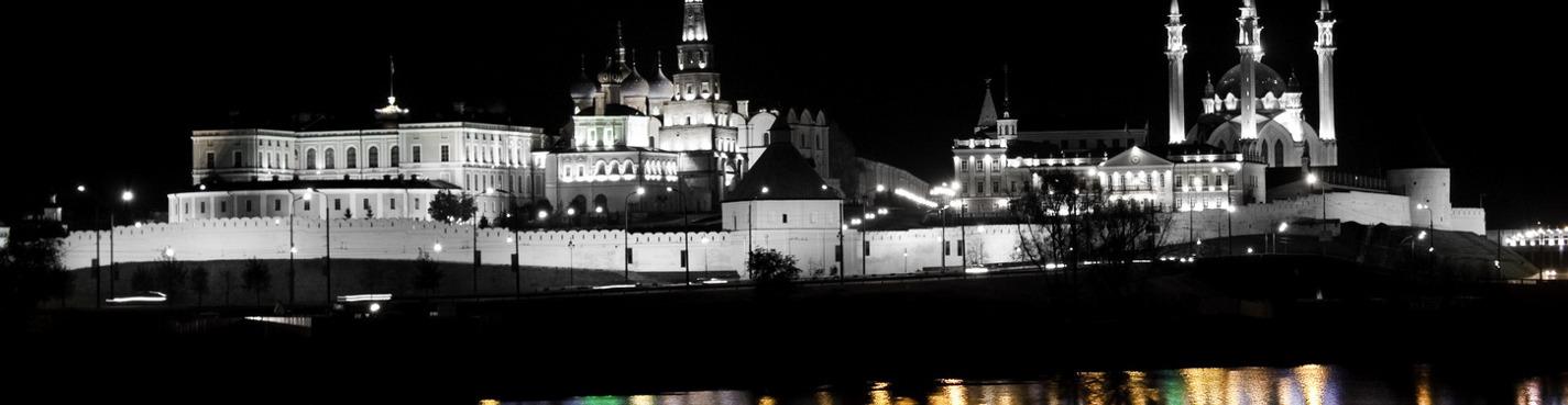 «Ночная Казань»: игра света