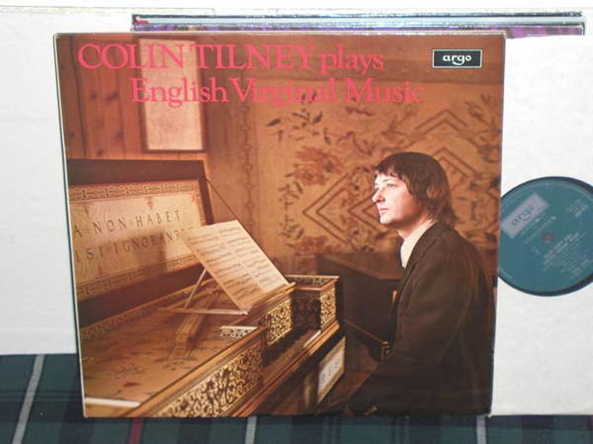Colin Tilney - Byrd/Philips UK Argo/Decca zrg-675