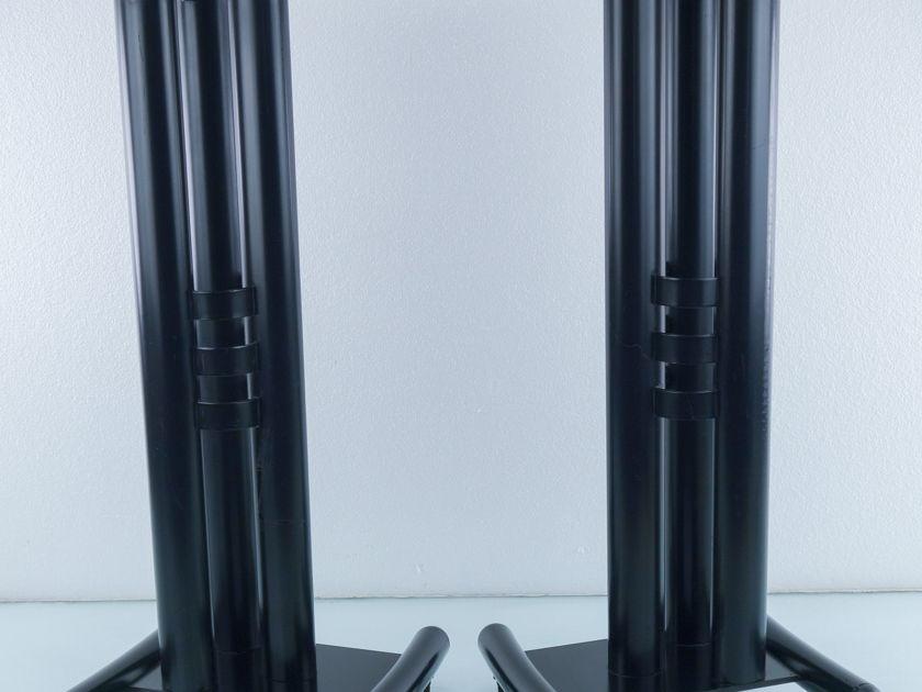 """Metal Speaker Stands; 26"""" Tall Pair (9532)"""