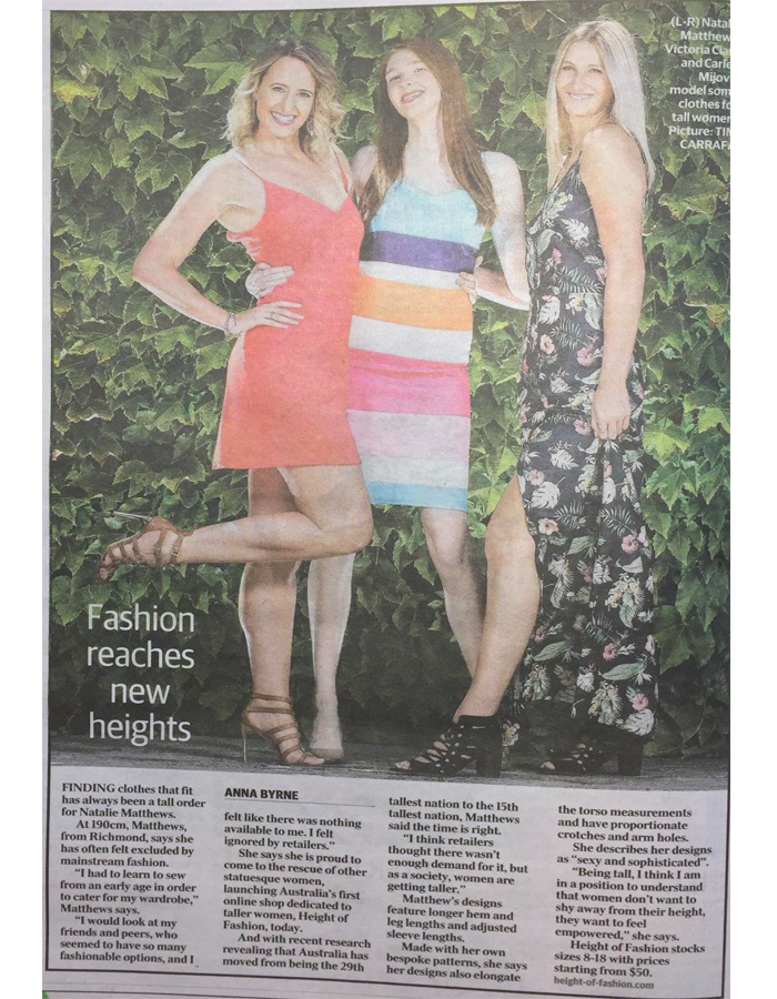 Height-Of-Fashion In The News - HEIGHT-OF-FASHION