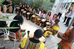 Feel the Rhythm at an African Drumming Experience