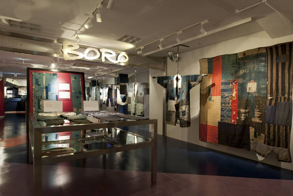 Boro exhibition at the Amuse Museum in Tokyo