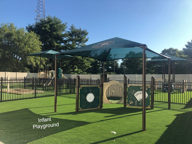 Our playgrounds are almost complete!