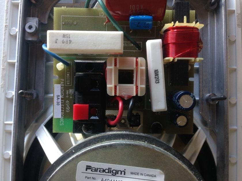 Paradigm SA-30 In-Wall Speakers - (1) Pair - NICE!