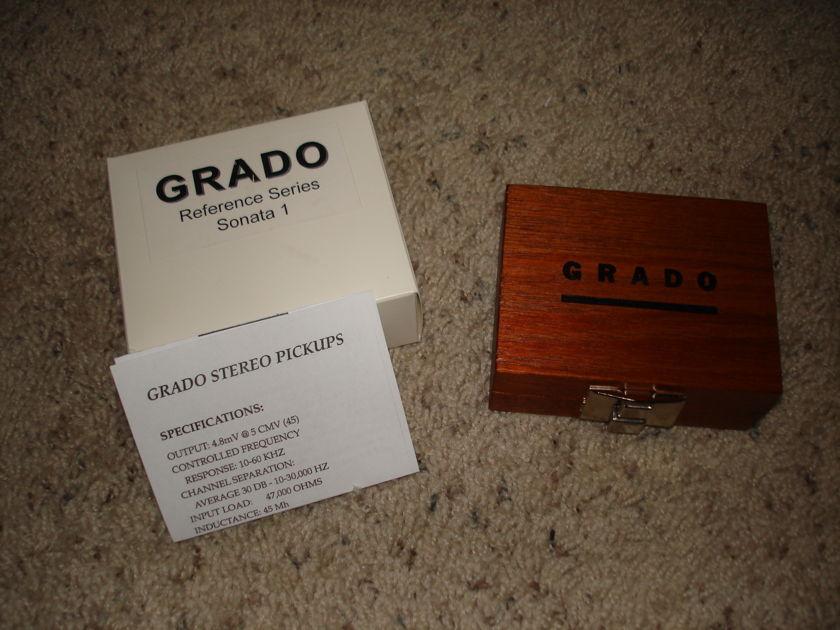 Grado Reference Sonata cartridge less than 50 hours