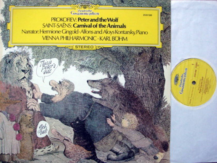 DG / BOHM-VPO, - Prokofiev Peter and the Wolf, NM!