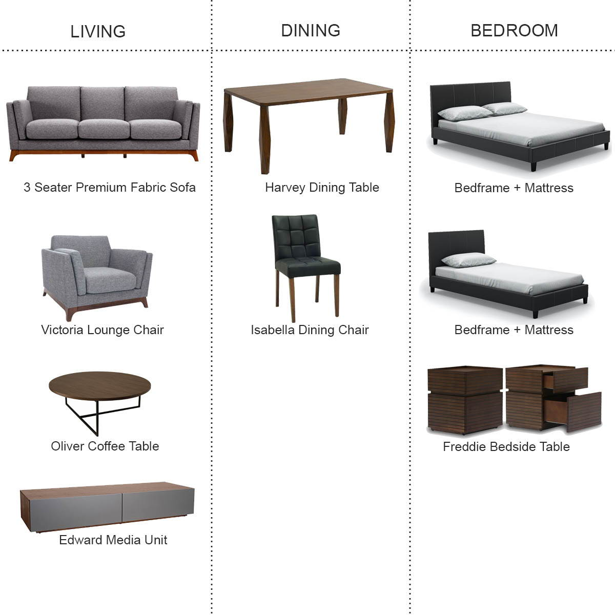 Furniture for rent singapore