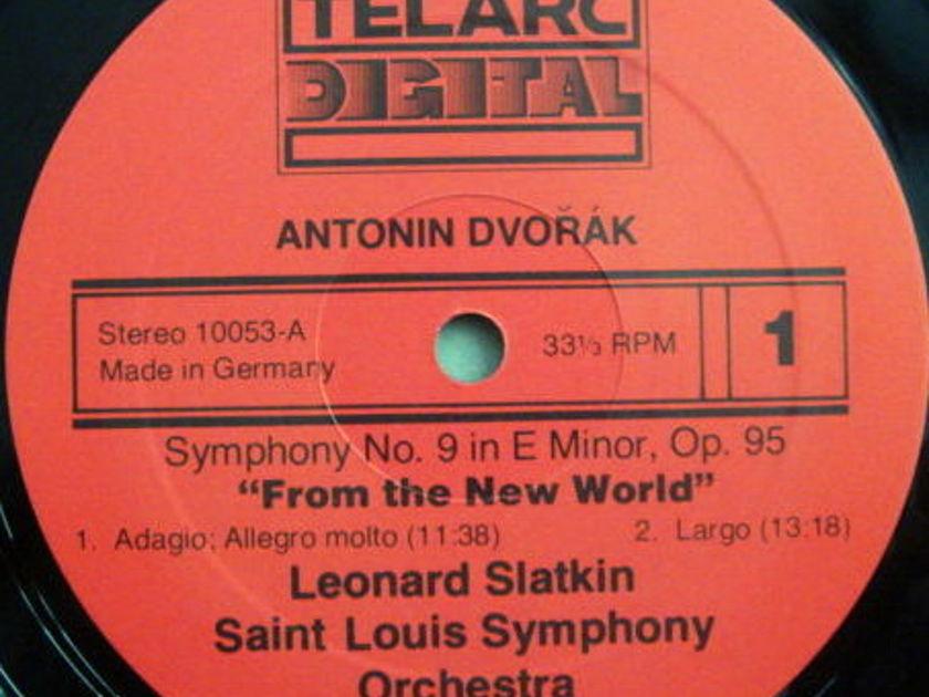 ★Audiophile★ Telarc / SLATKIN, - Dvorak Symphony No. 9 New World, MINT!