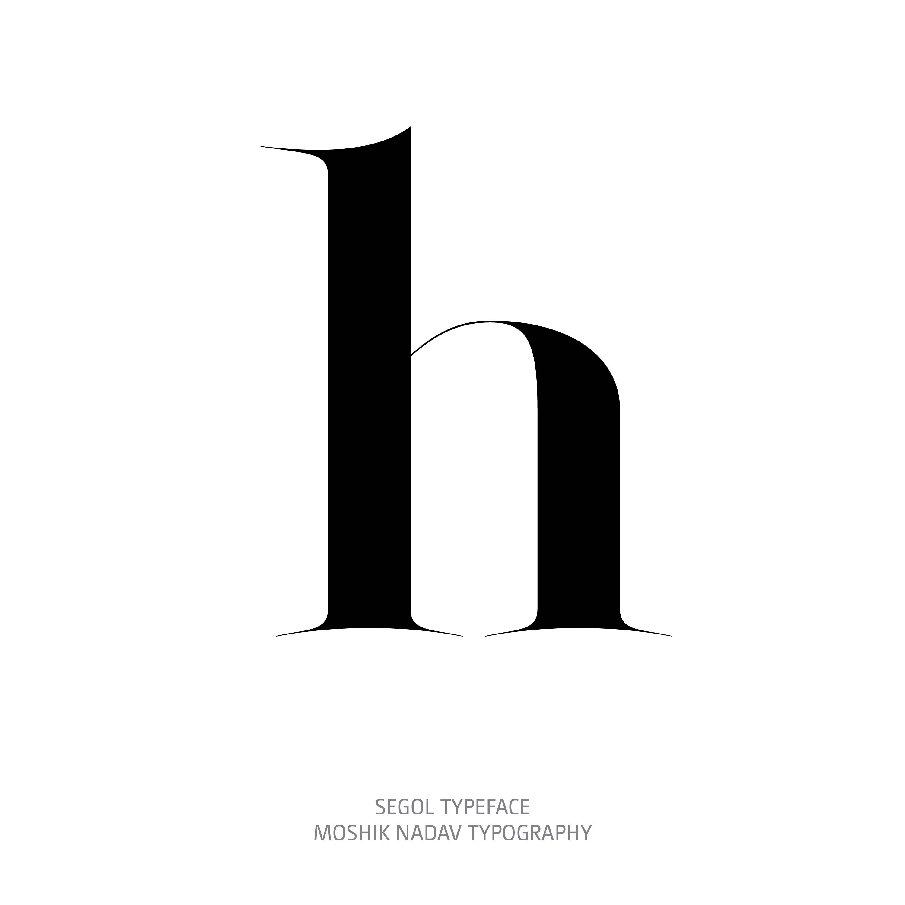 Segol Typeface h The Ultimate Font For Fashion Typography and sexy logos