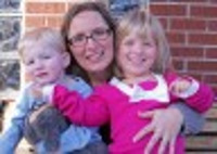 Chicagoland reporter Lisa Shidler with her children Chance and Liz.
