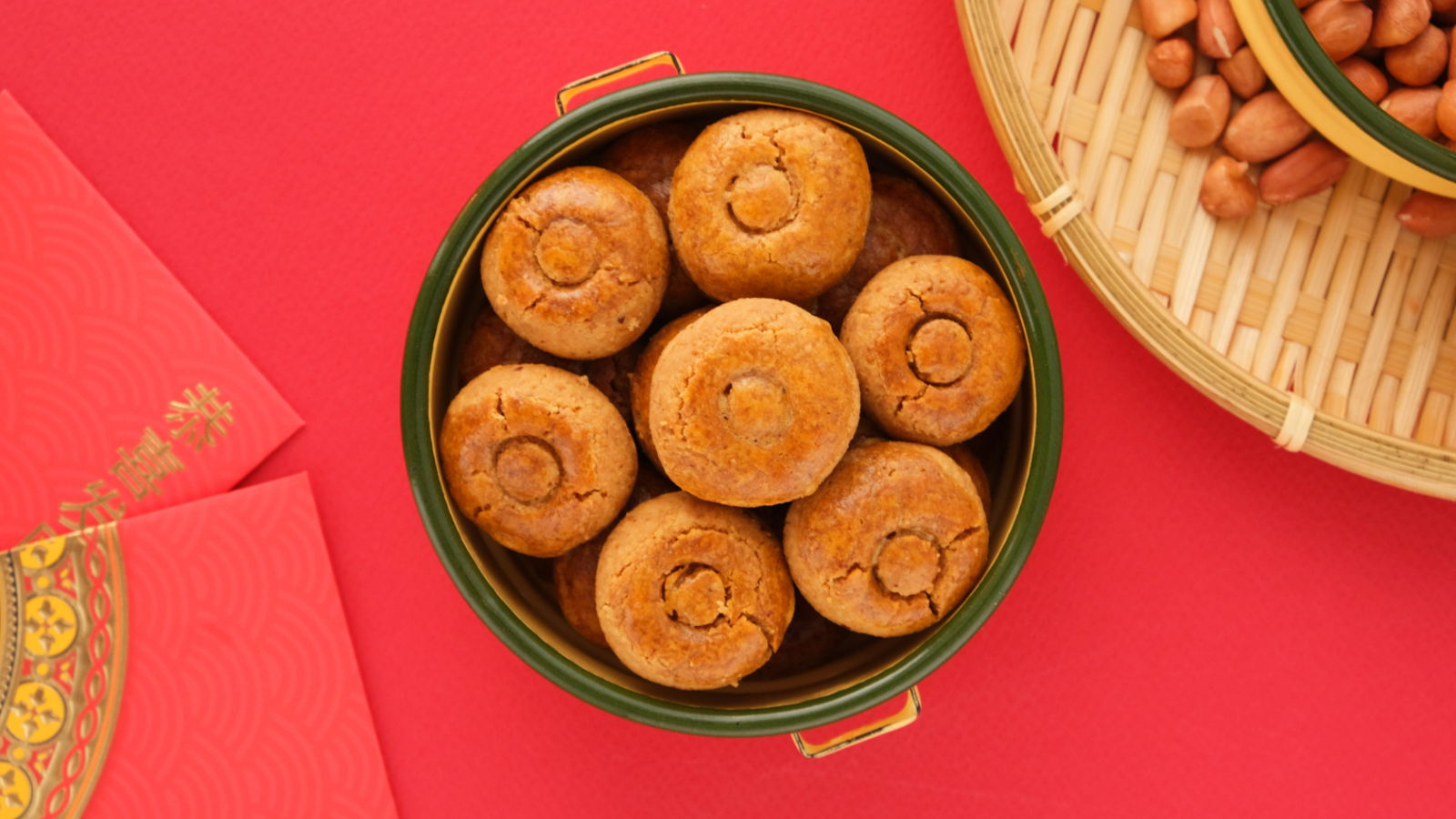 Easy Peanut Cookies