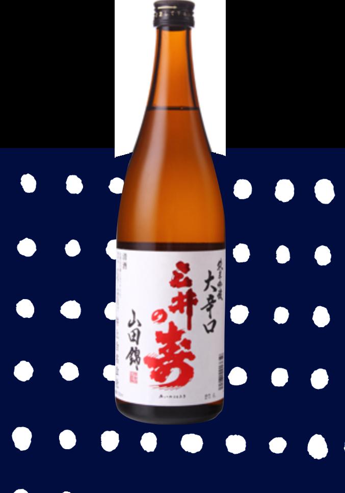 三井の寿 純米吟醸 大辛口 +14 720ml