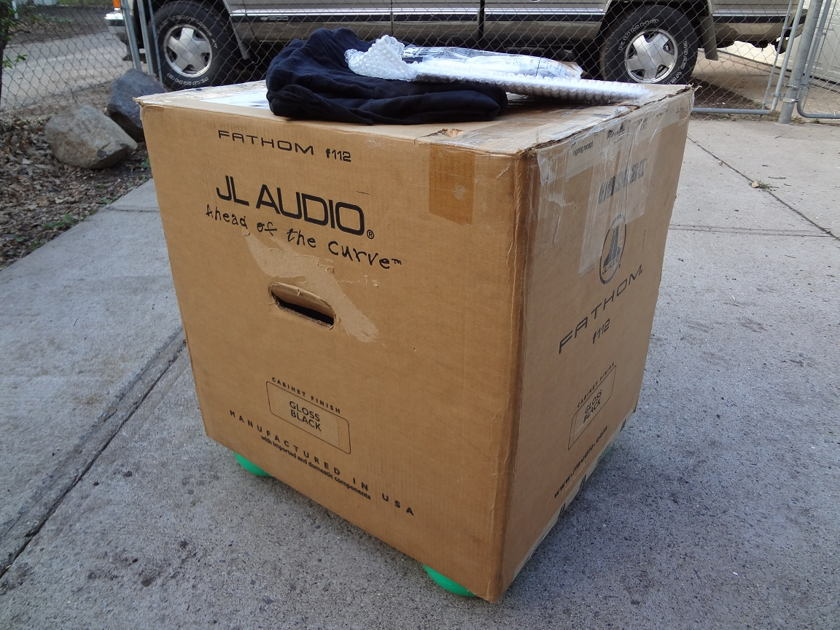JL Audio Fathom F112 Gloss Black