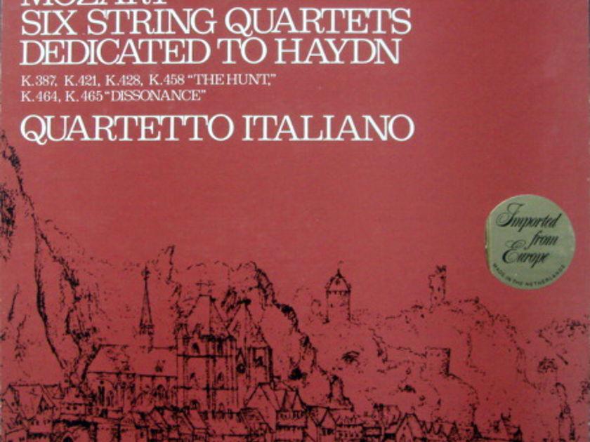 Philips / QUARTETTO ITALIANO, - Mozart Six String Quartets dedicated to Haydn,  MINT, 3LP Box Set!