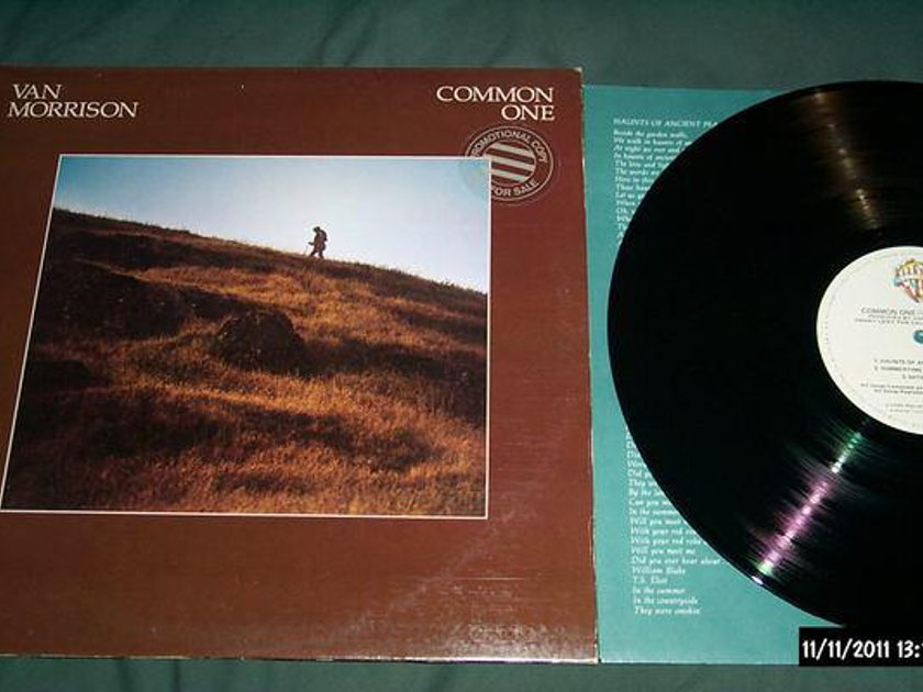 Van morrison - Common One lp nm
