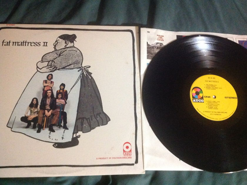 Fat Mattress - S/T  Noel Redding LP NM Yellow Atco Label