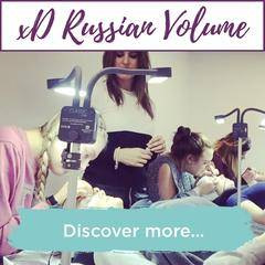 xD Russian Volume Lashes Training