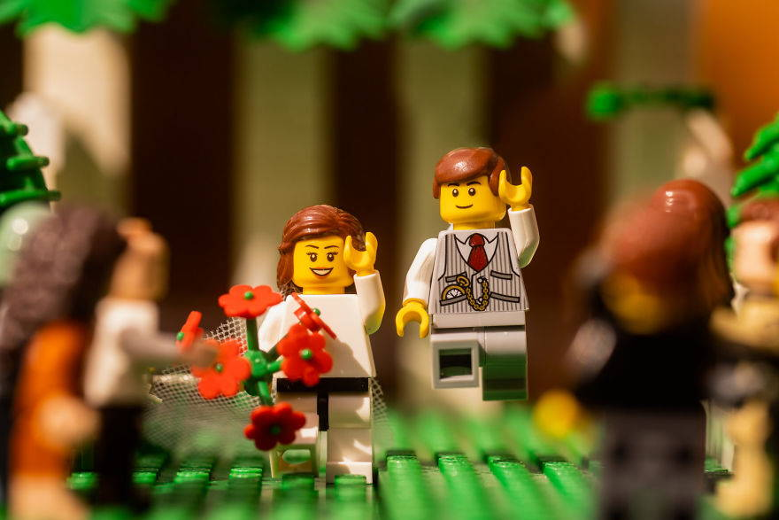 lego weddings