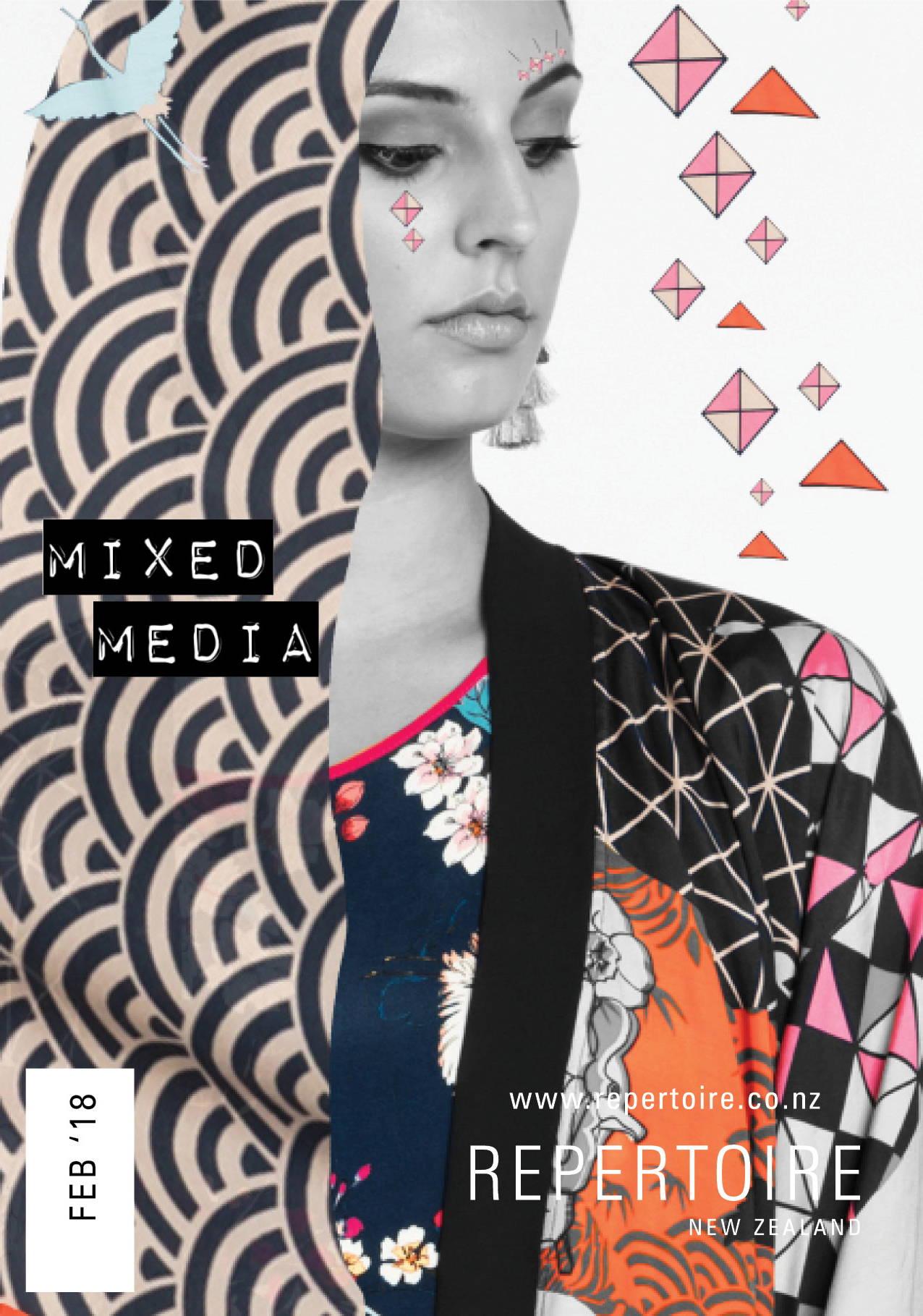 Mixed Media Lookbook