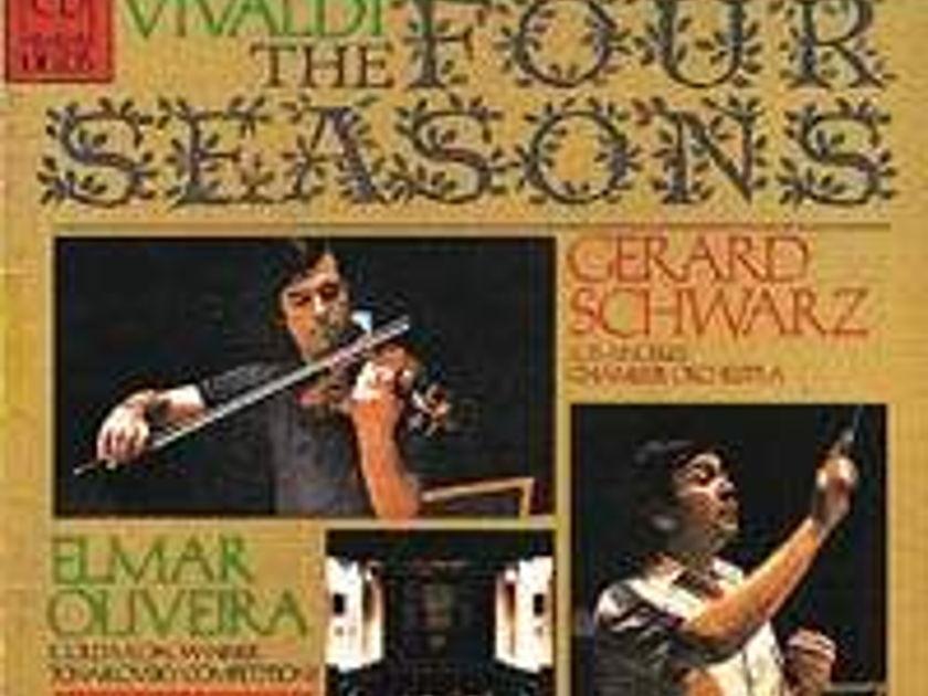 DELOS vinyl lp - Four Seasons Schwarz/Los Angeles chamber orch