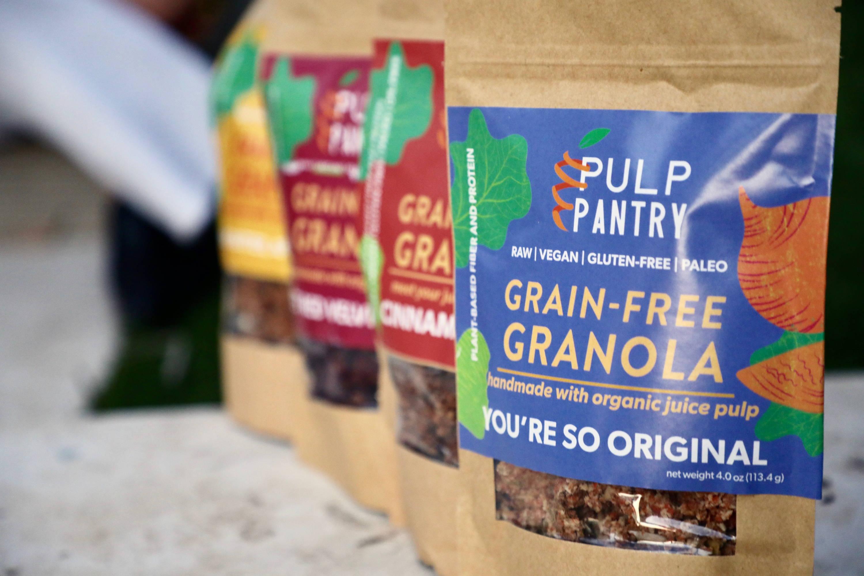 Pulp Pantry Grain-Free, Paleo, Raw, Gluten-free, Organic, Local, Plant-based, dairy-free, refined-sugar free granola
