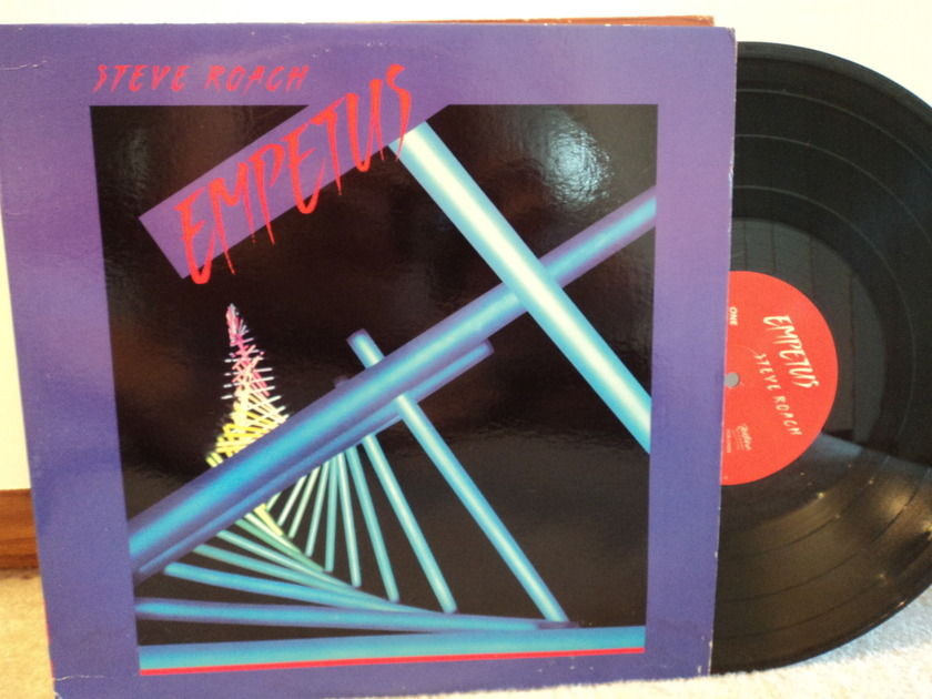 Steve Roach - EMPETUS - New Age/Space Music NM rare record