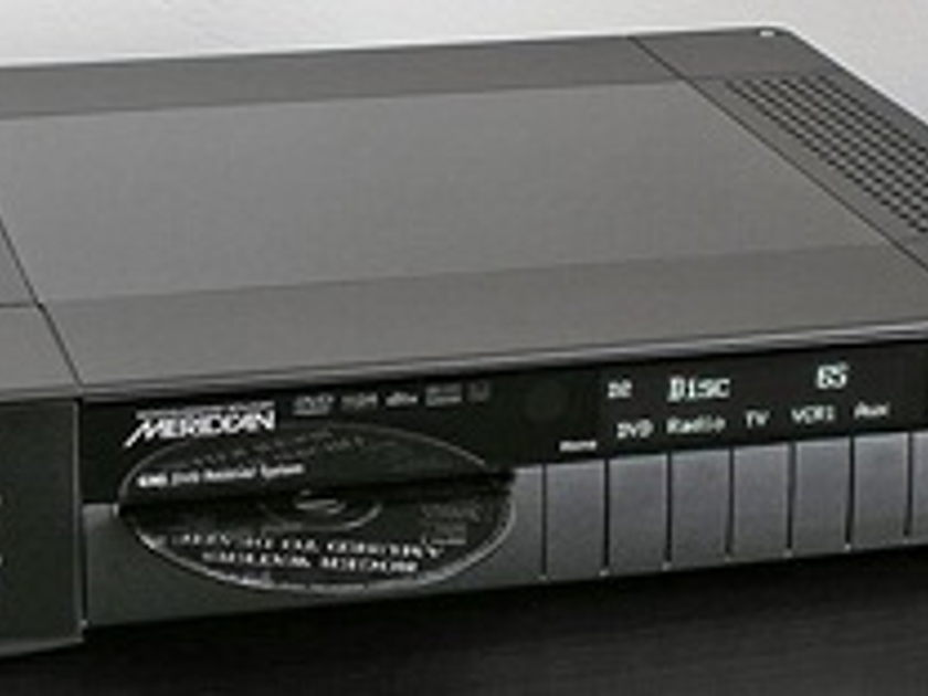 Meridian G95 DVD receiver system