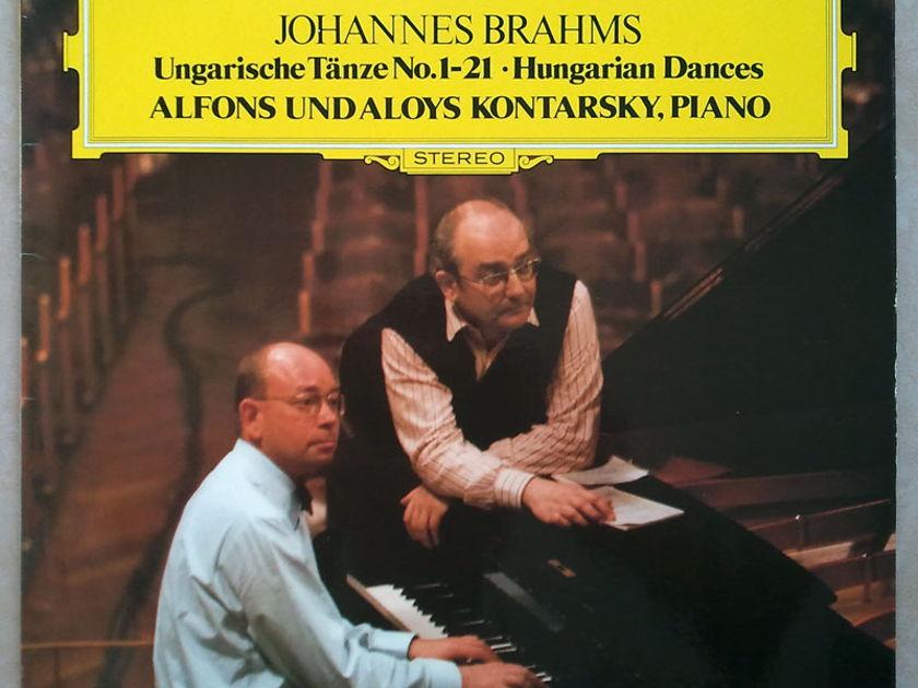 DG | ALOYS & ALFONS KONTARSKY/BRAHMS - Hungarian Dances Nos. 1-21 / NM