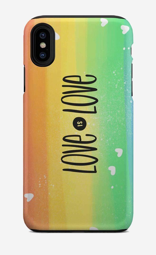 love is love lgbt phone case