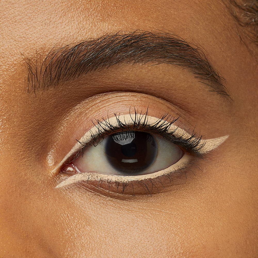 Maquillage yeux naturel eyeliner nude