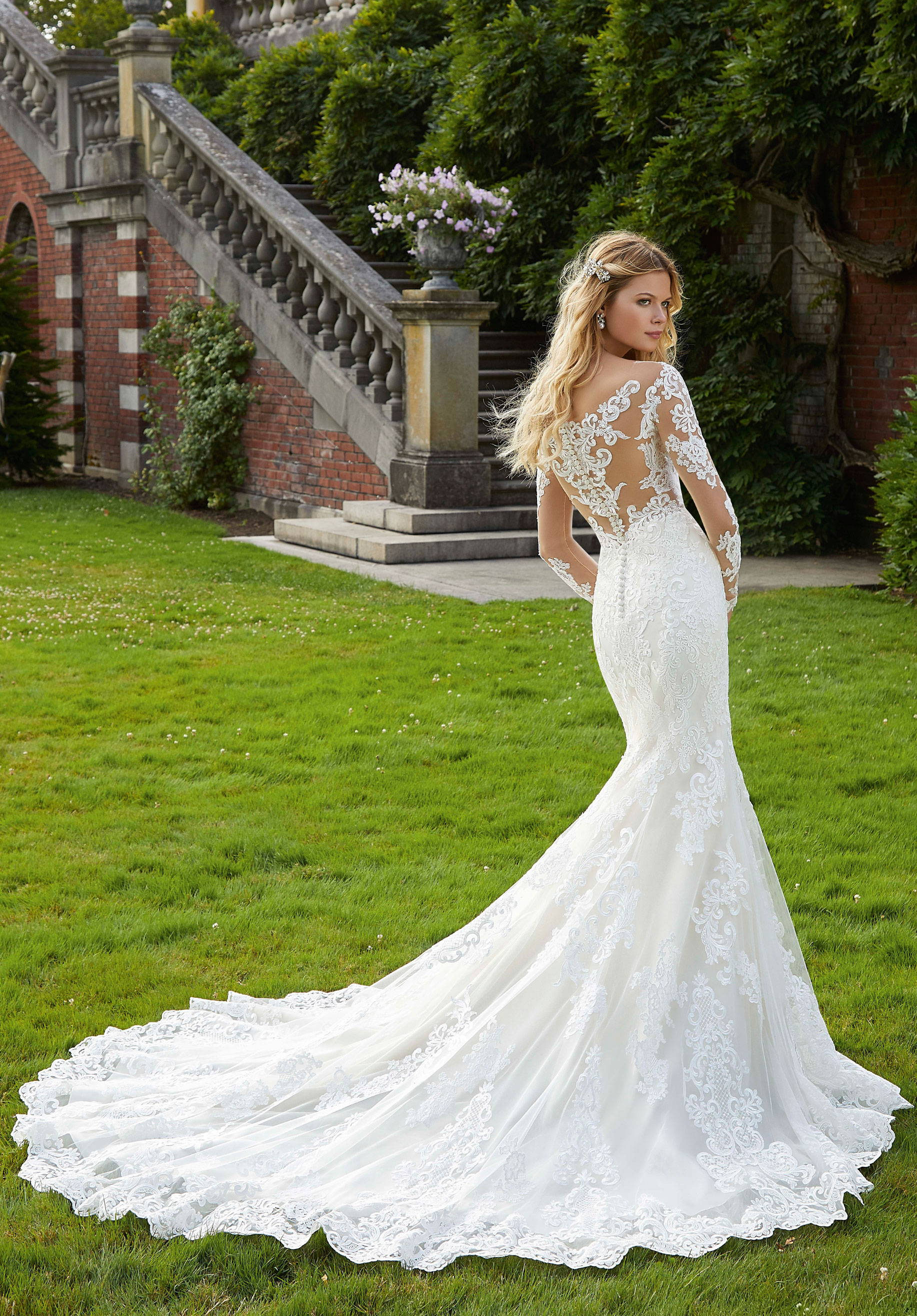 MORI LEE  WEDDING DRESS 2040