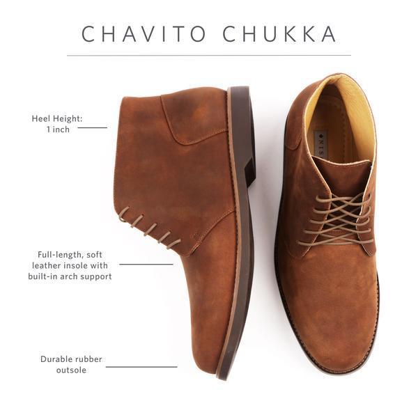chavito chukka boot for men