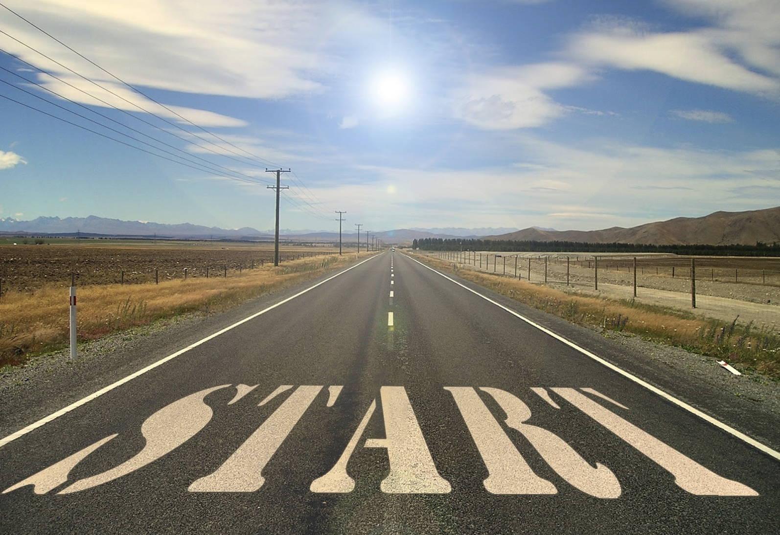 Startlinje der repræsenterer hvor du står som begynder når du starter med at handle med aktier.