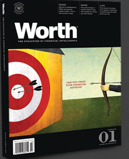 Worth magazine is targeting RIAs as a prime revenue source