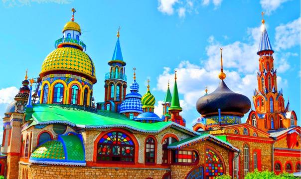 Экскурсия в Свияжск и Храм Всех Религий