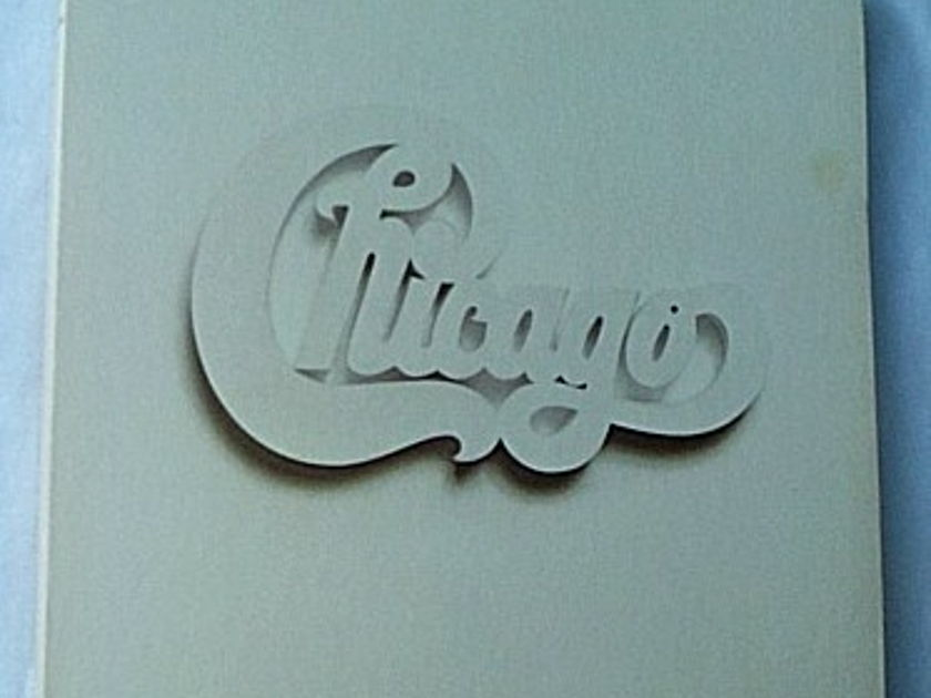 Chicago 4 LP box set-At Carnegie Hall - -orig 1971 complete set with all  inserts and large poster