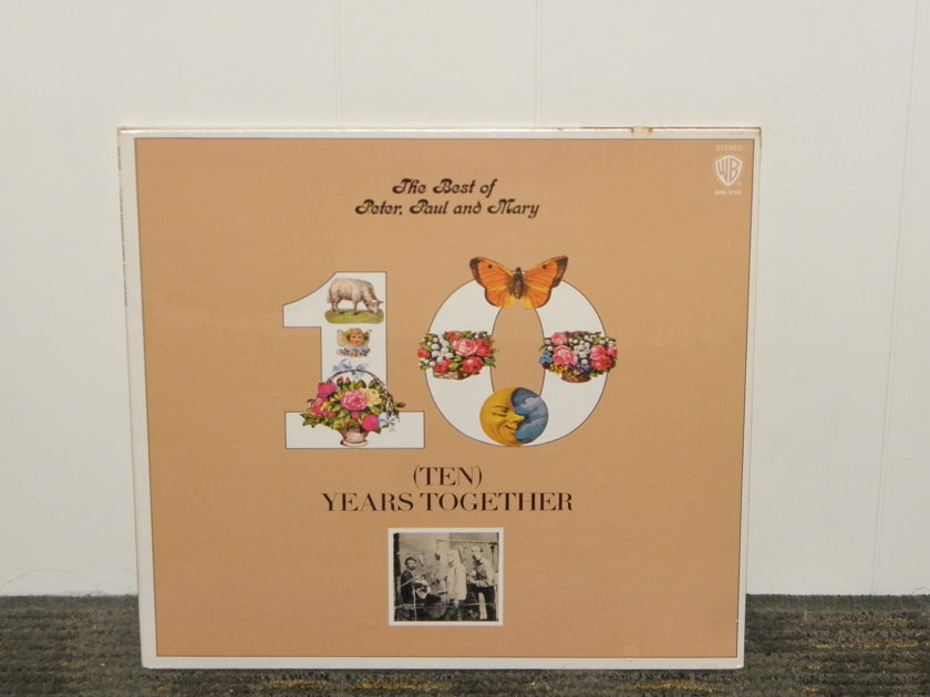 "Peter,Paul,and Mary. ""The Best Of"" - Warner Bros WB BSK3105 STILL SEALED Special Tk'sgiv'n 25% off+ free ship!"