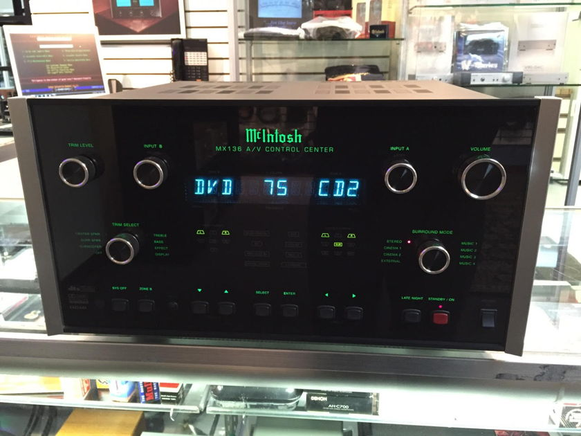 McIntosh MX136 Home Theater Processor