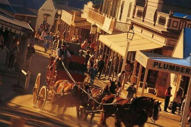Город золотоискателей Балларат и прииск 19-го века Соверен Хилл