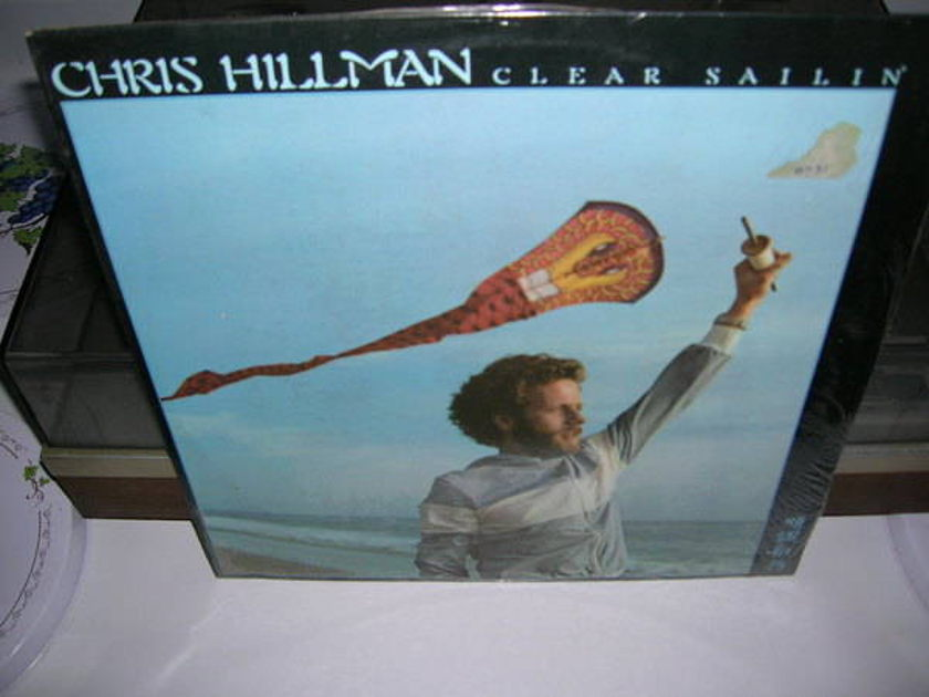 Chris Hillman - - Clear Sailin' - sealed 1977 asylum records lp