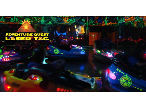 Laser Tag and Games Family Night Out Package