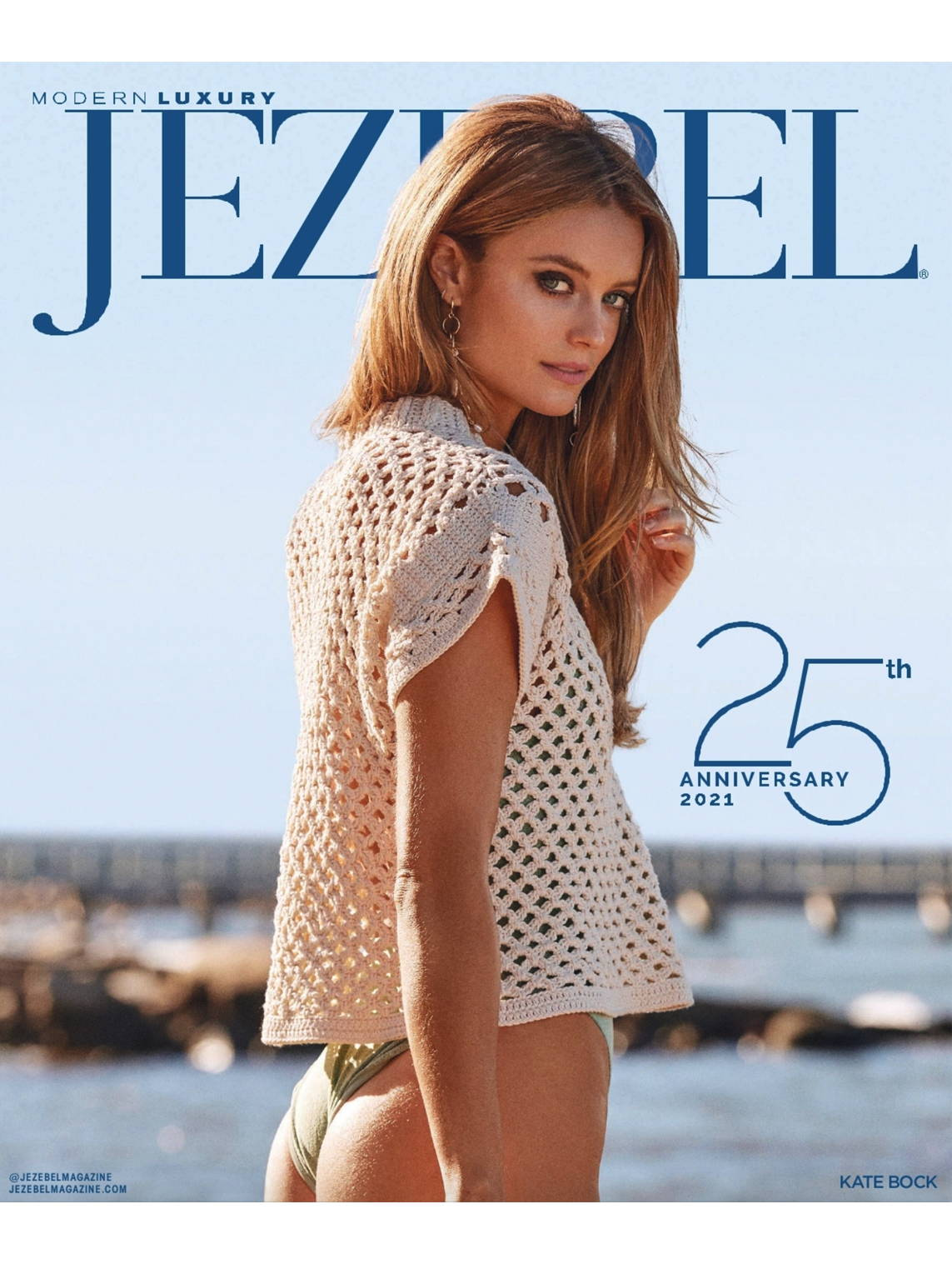 Jezebel Magazine February 2021 Featuring Adelina Social Goods