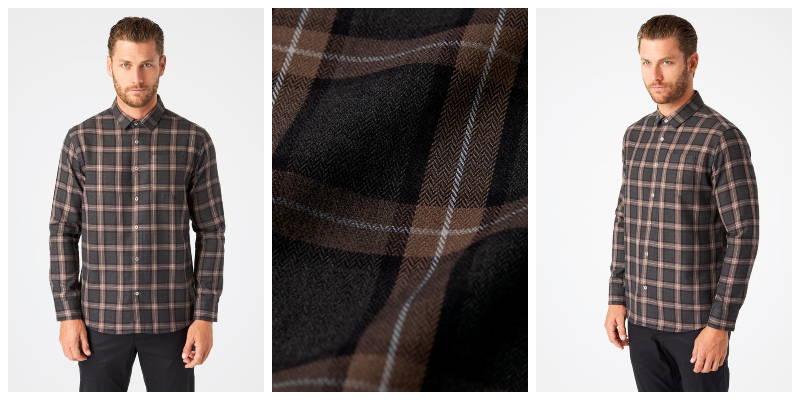 River Single Pocket Flannel Shirt