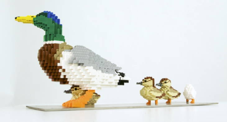 LEGO Duck and Ducklings