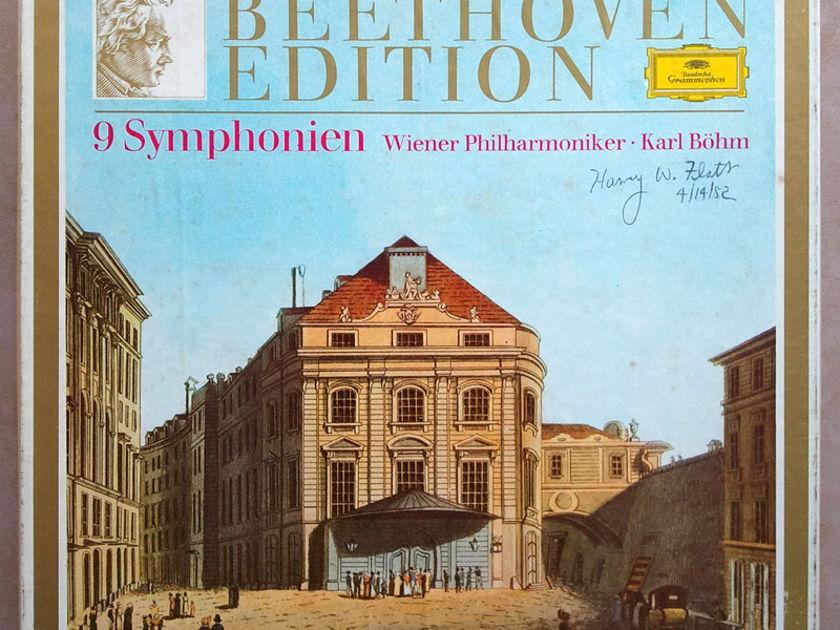 DG/Bohm/Beethoven - The Nine Symphonies / 8-LP Box / NM